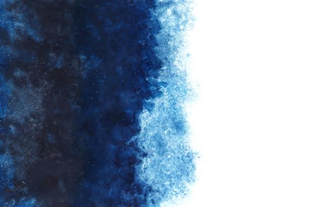 Blauwe aquarel achtergrond Gratis Vector