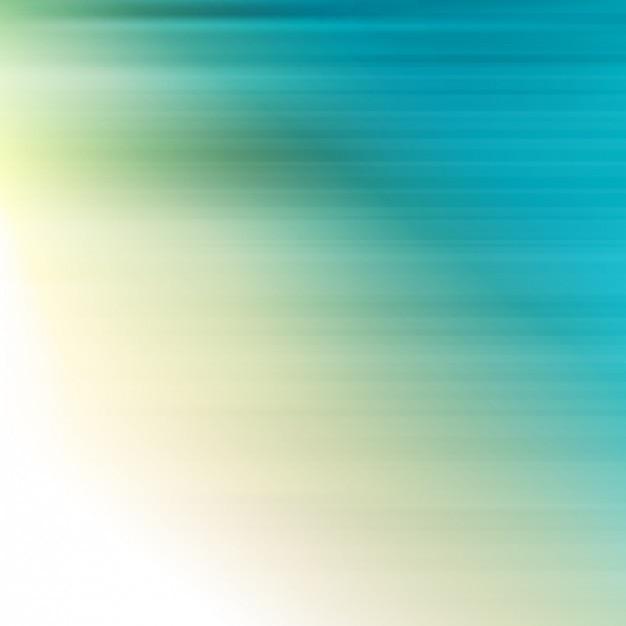 Blauwe en groene strepen achtergrond met kleurverloop effect Gratis Vector