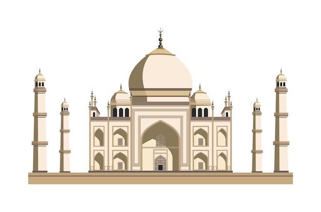 Blauwe moskee. reis, reisconcept. beroemde monumenten van wereldlanden. Premium Vector