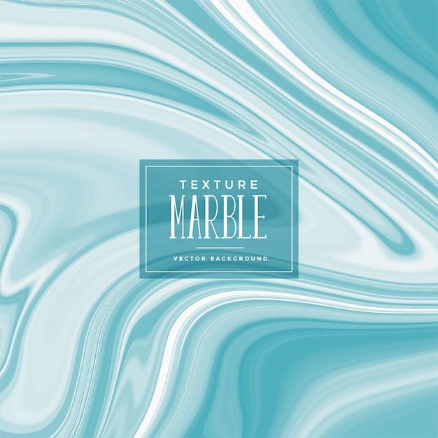 Blauwe vloeibare marmeren textuurachtergrond Gratis Vector