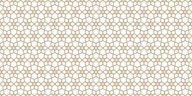 Bloemen naadloos patroon in oosterse stijl, gevoelig ornament, beige en witte textuur Premium Vector