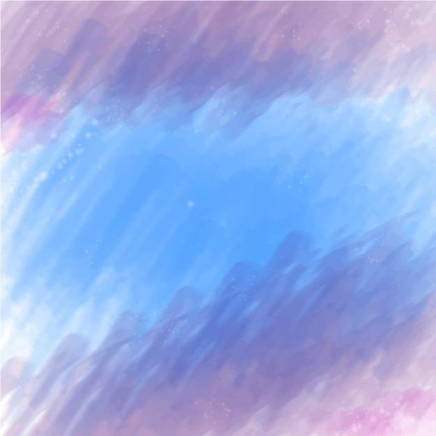 Blured blauwe en lila achtergrond Gratis Vector
