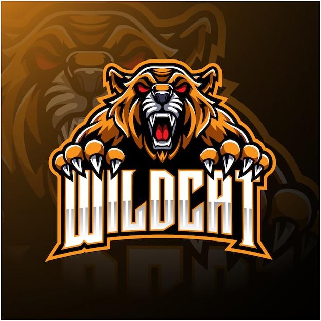 Boos wildcat-logo Premium Vector