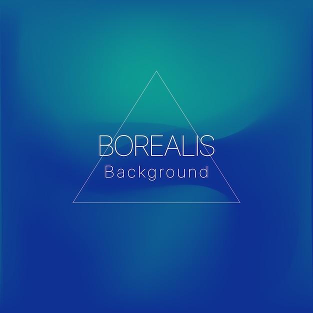 Borealis achtergrond Premium Vector