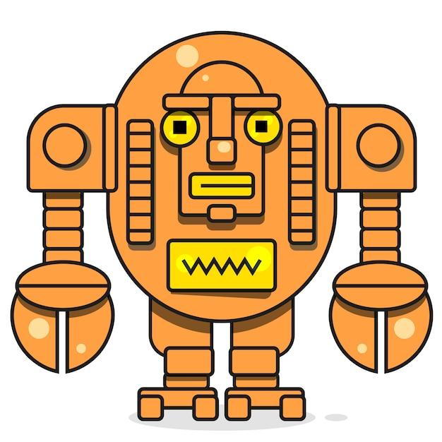 Bot-pictogram, chatbot Premium Vector