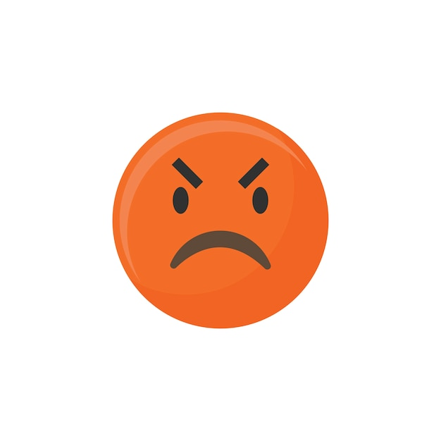 Boze emoji Gratis Vector