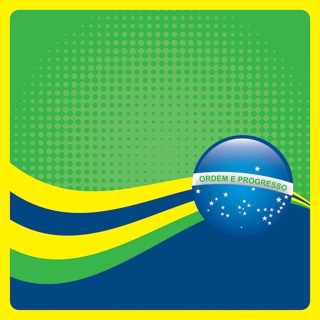 Brazilië Gratis Vector