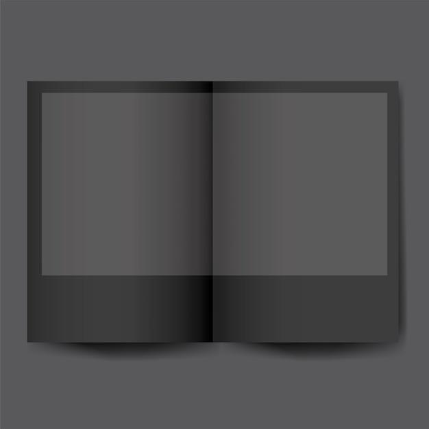 Brochure ontwerp sjabloon mockup vector Gratis Vector