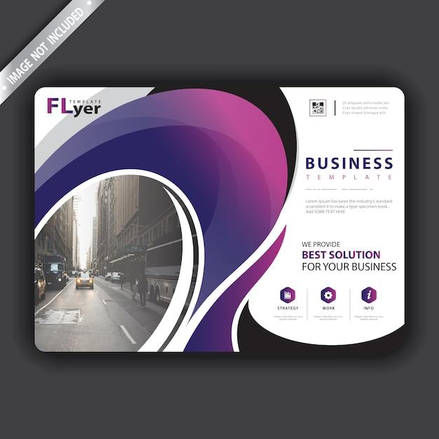 Brochure presentatiesjabloon Gratis Vector