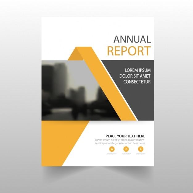 Brochure template ontwerp Gratis Vector