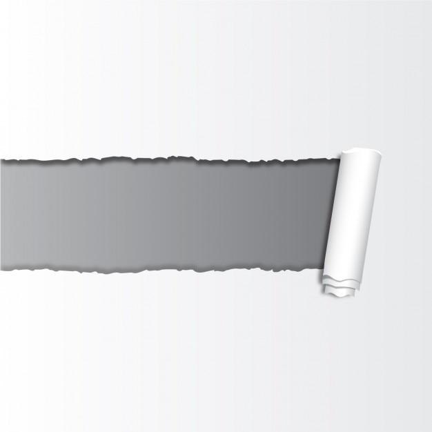Broken paper achtergrond Gratis Vector
