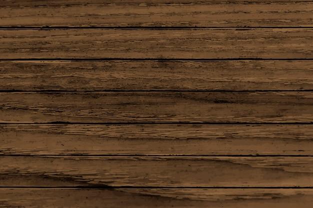 Bruine houten achtergrond Gratis Vector