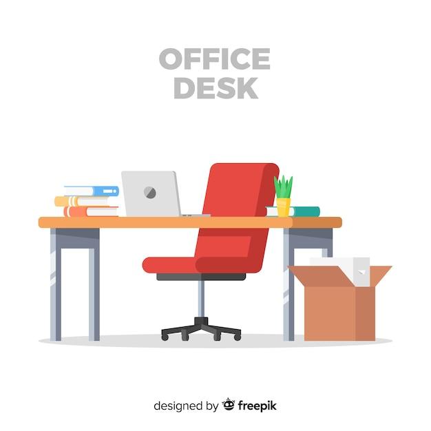 Bureau Gratis Vector