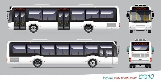Bus Premium Vector