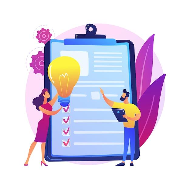 Business team brainstorm, gloeilamp. visieverklaring, bedrijfs- en bedrijfsmissie, bedrijfsplanningsconcept Gratis Vector