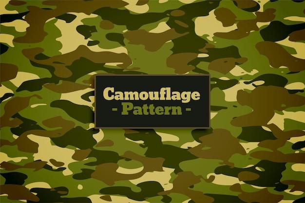 Camouflage patroon textuur in groene tinten achtergrond Gratis Vector