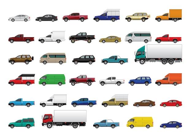 Cars Premium Vector
