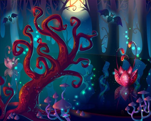 Cartoon hout game-ontwerp Gratis Vector