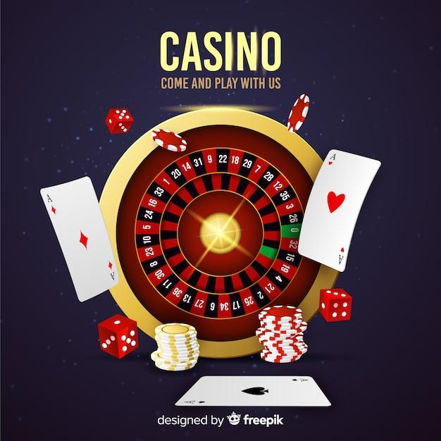 Casino roulette Gratis Vector