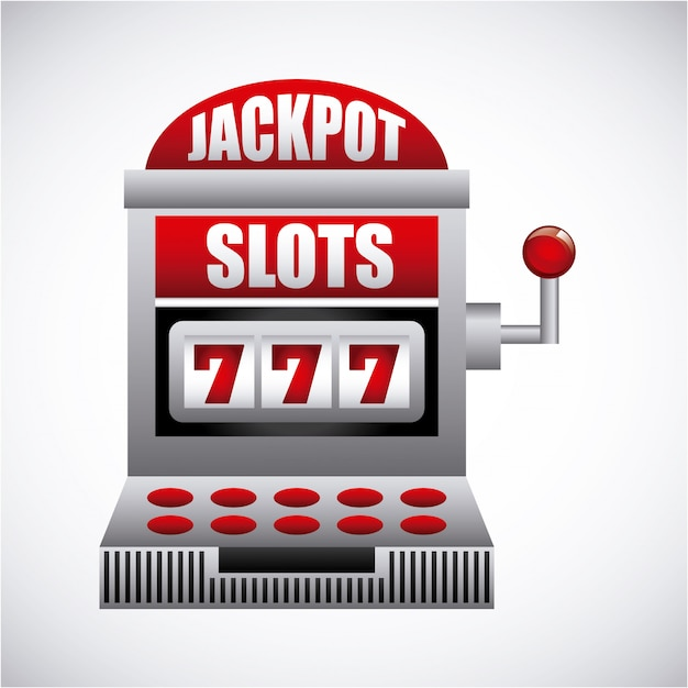Casinospel Premium Vector