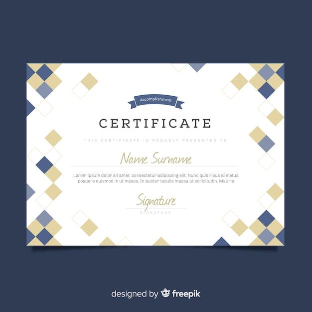Certificaat Gratis Vector