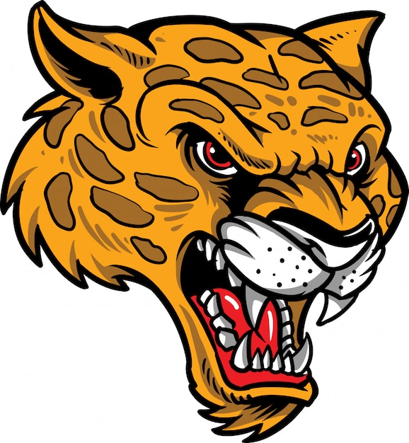 Cheetah Premium Vector