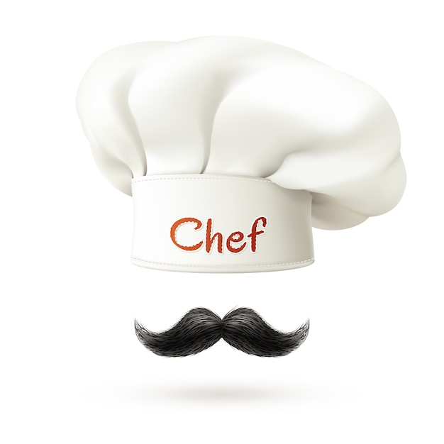 Chef-kok concept illustratie Premium Vector