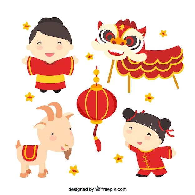 chinese cultuur illustratie | vector | premium download