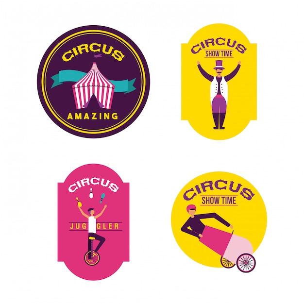 Circus kermis Gratis Vector