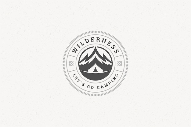 Citeer typografie met handgetekende bergrotssymbool voor wenskaart of poster en andere. Premium Vector
