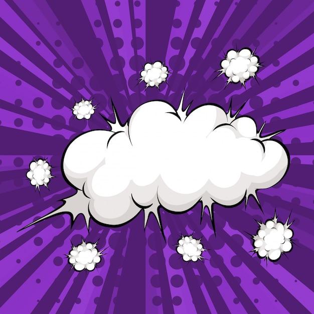 Cloud bubble Gratis Vector