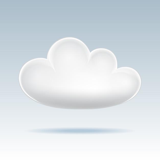 Cloud icoon. Premium Vector