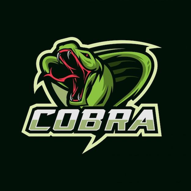 Cobra esport-logo Premium Vector