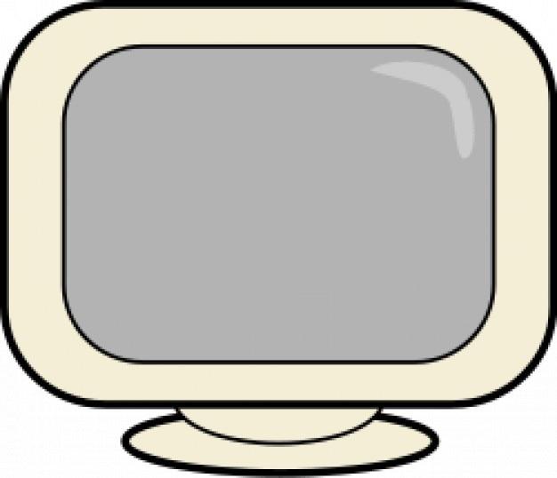 computerscherm Gratis Vector