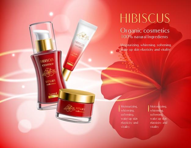 Cosmetica producten samenstelling Gratis Vector