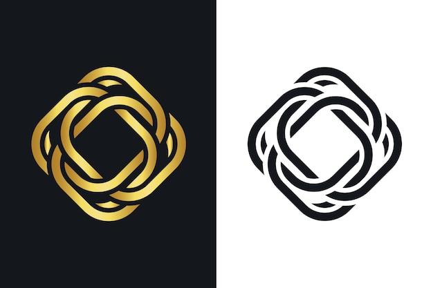Creatief abstract logo sjabloon Gratis Vector