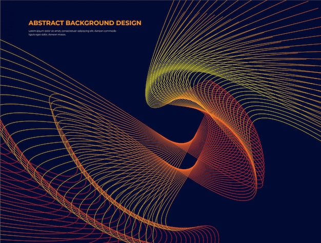 Creatieve abstracte achtergrond Premium Vector