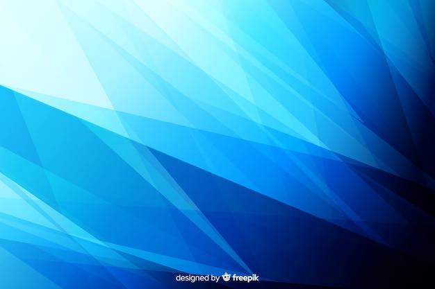 Creatieve blauwe vormenachtergrond Gratis Vector