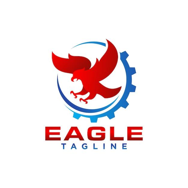 Creatieve eagle logo stock vector Premium Vector