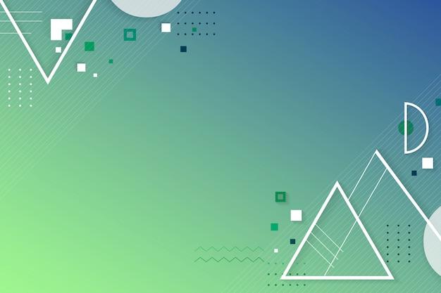 Creatieve geometrisch ontwerpruimte Gratis Vector