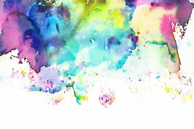 Creatieve kleurrijke handgeschilderde achtergrond Gratis Vector