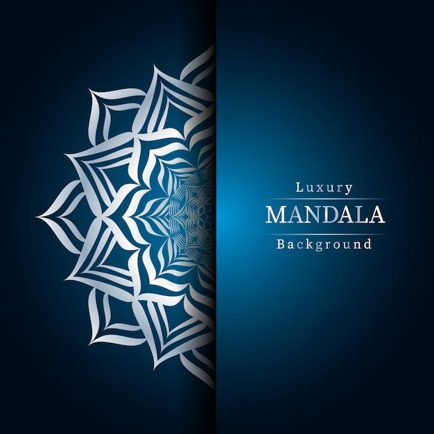 Creatieve luxe mandala Premium Vector