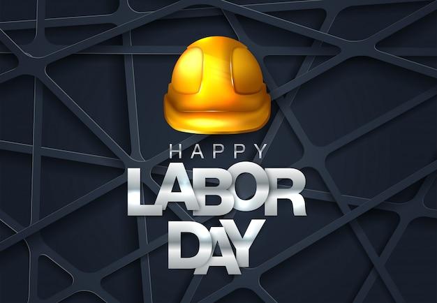 Dag van de arbeid. internationale dag van de arbeid. gelukkige dag van de arbeid vectorillustratie Premium Vector