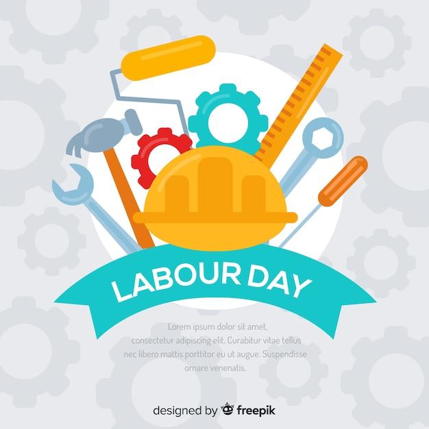 Dag van de arbeid Gratis Vector
