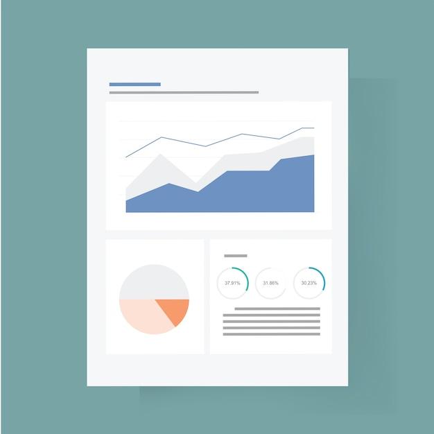 Dashboard pictogram vectorillustratie Gratis Vector