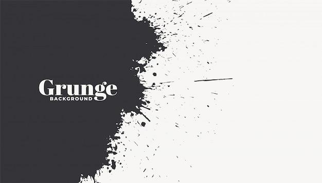 De abstracte inkt ploetert grunge achtergrond Gratis Vector