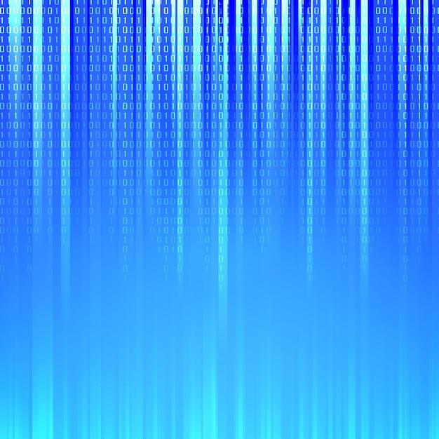 De binaire code. Gratis Vector