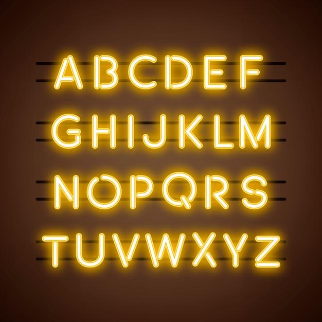De engelse alfabet hoofdletters vector Gratis Vector