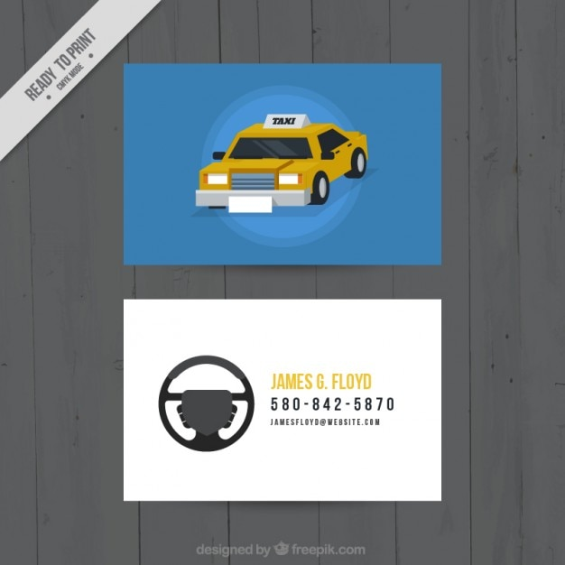 De kaart van nice voor taxichauffeurs Gratis Vector
