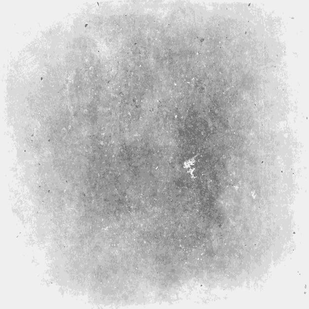 De zwart-wit achtergrond van de grungetextuur Gratis Vector